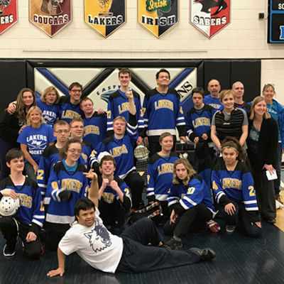 Lakers Adapted Floor Hockey 3/23/2017
