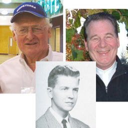 Tad Shaw, Bob Miller '54, and Steve Frazier