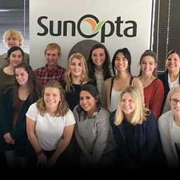 VANTAGE Global Food Sustainability Students Visit SunOpta