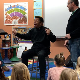 Musician J.D. Steele Teaches Music and Multiculturalism to Excelsior Students