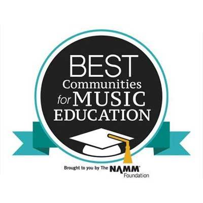Minnetonka Schools Honored with NAMM Award for the 6th Straight Year