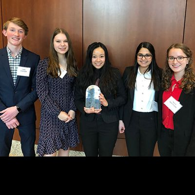 VANTAGE Students Win Big at St. Thomas Business Plan Competition