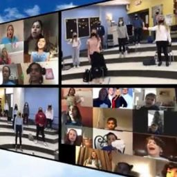 "MMW 7th Graders Featured in Virtual ""Clouds Choir for a Cause"""