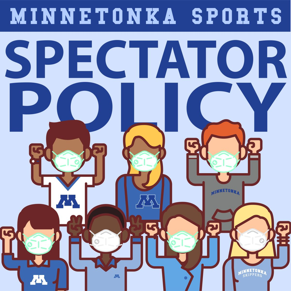 Winter Sports Spectator Policy  01/15/21