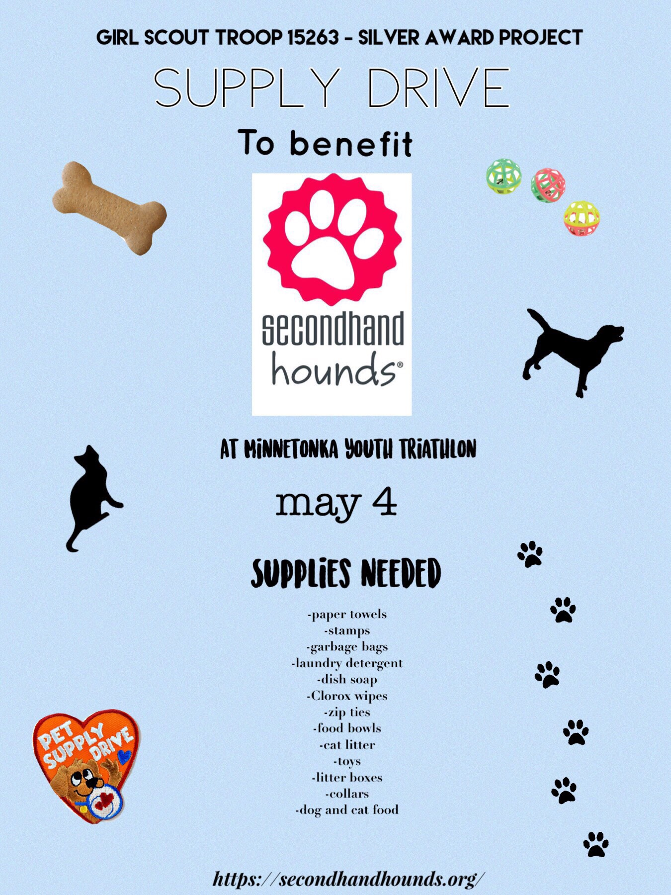 Second Hand Hounds Flyer