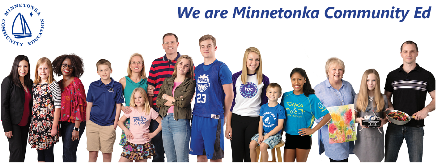 We are Minnetonka Community Ed