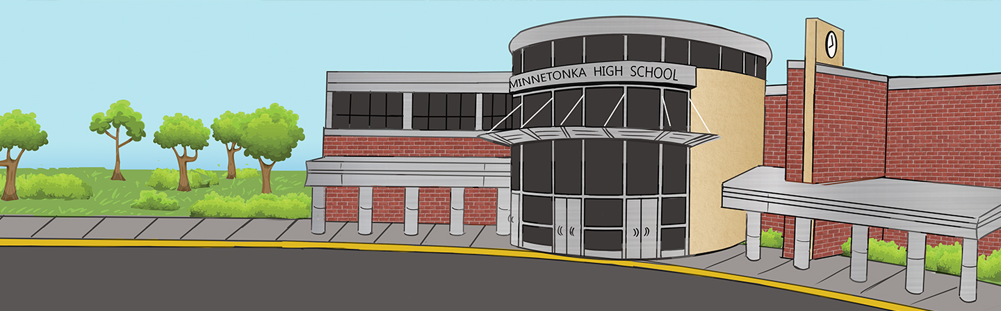Illustration of Minnetonka High School