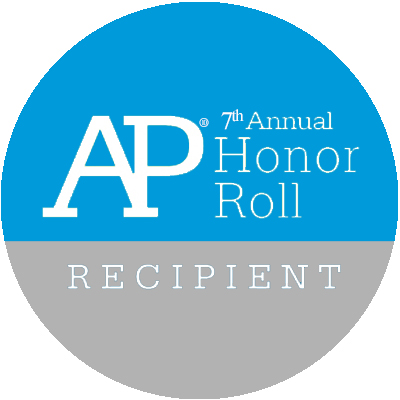AP Honor Roll recipient.