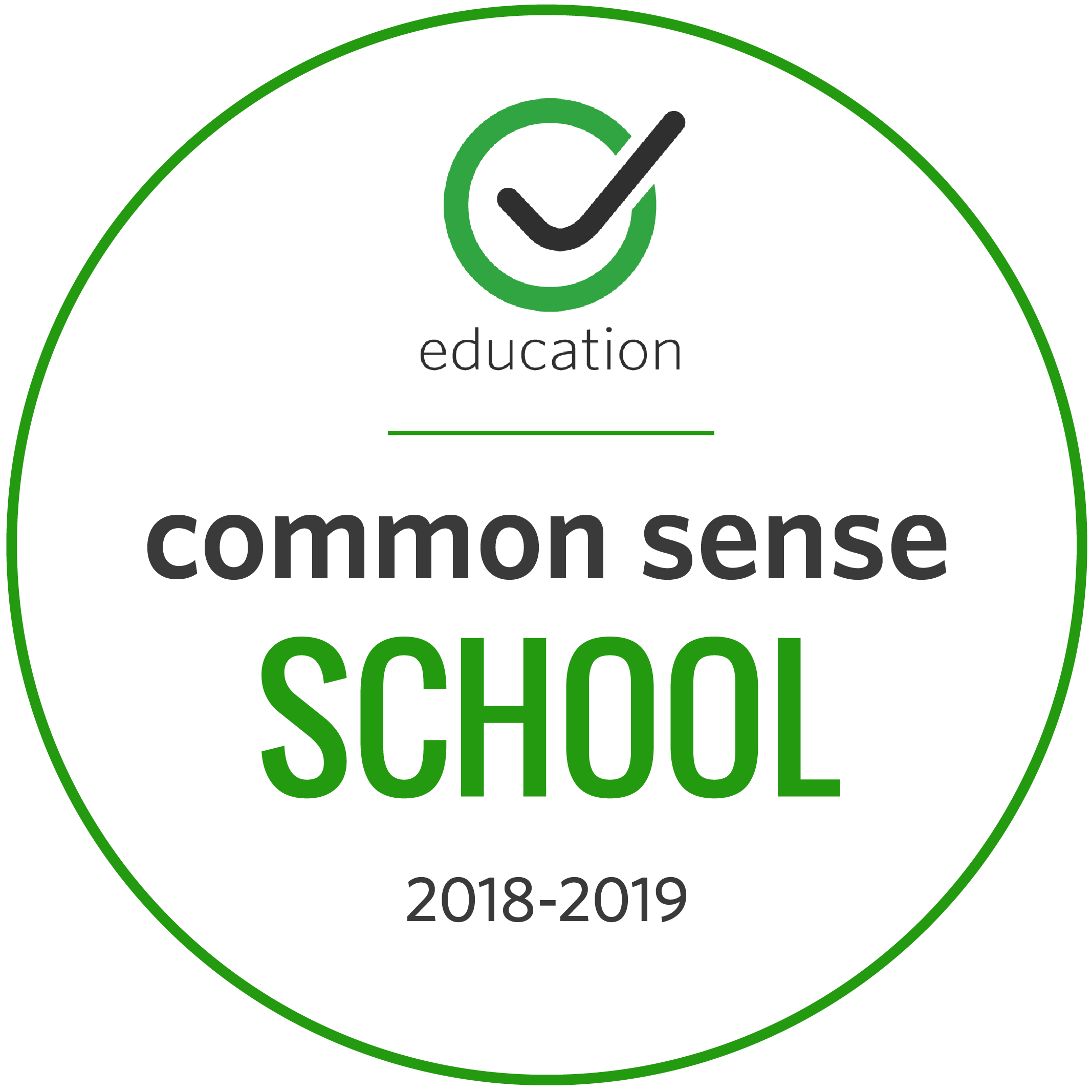 A Common Sense Certified School for Digital Citizenship