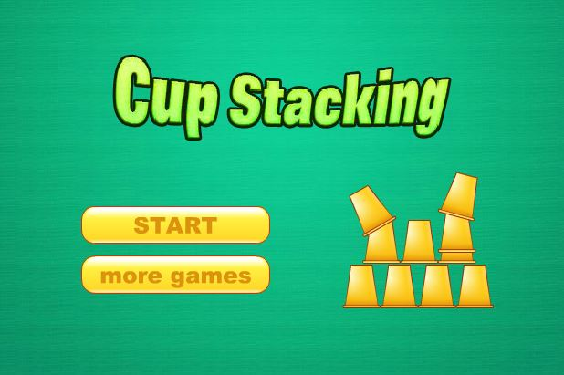 Cup Stacking Keyboard Practice
