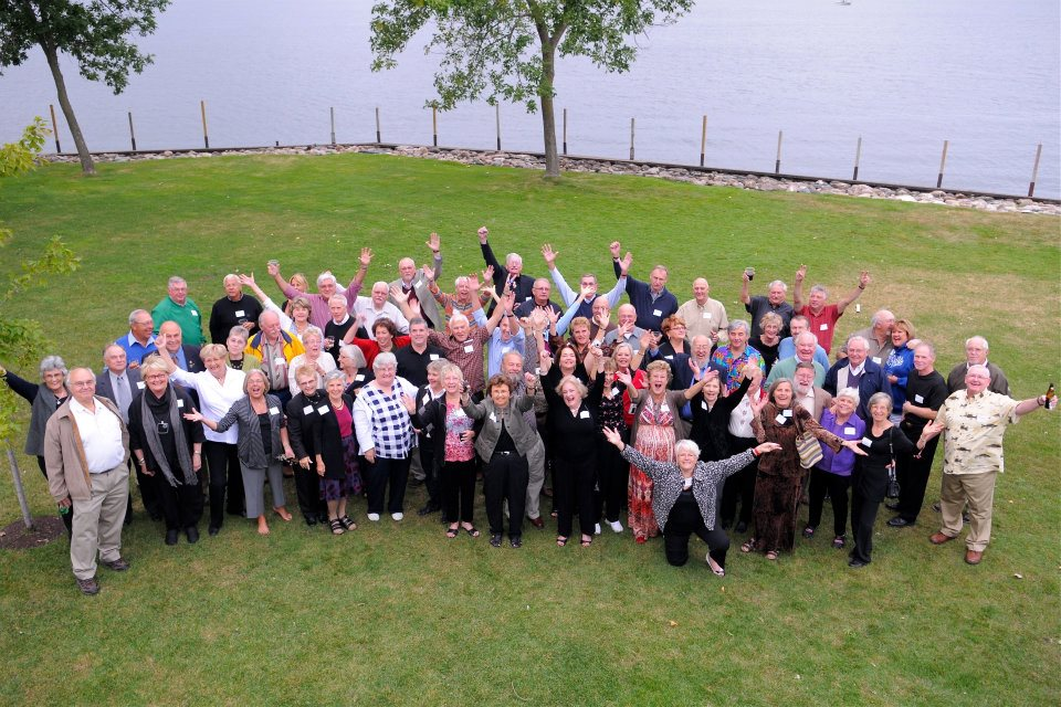 Photo from the 50th Class Reunion in 2011